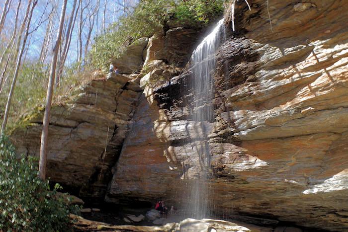Moore Cove Falls NC