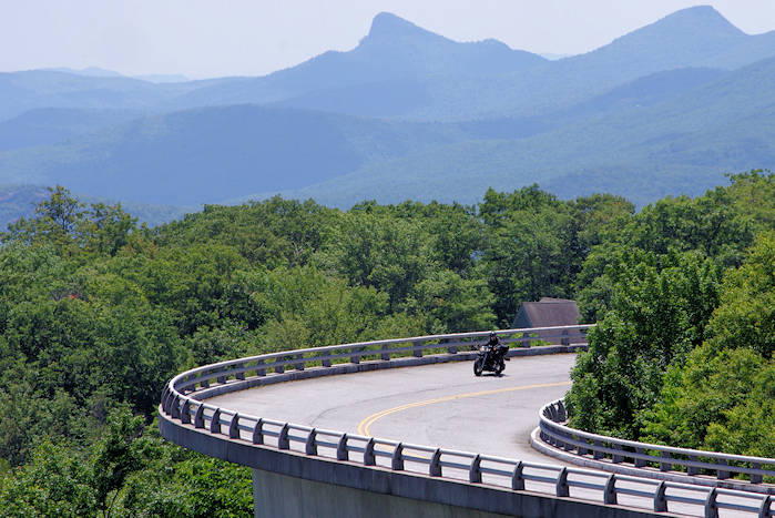 NC Mountain Motorcycle Drives