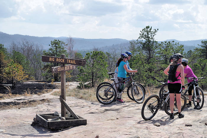 Bent Creek Mountain Bike Trails Lake Powhatan