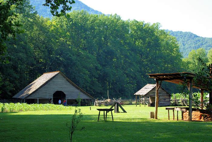 Mountain Farm Museum Great Smoky Mountains
