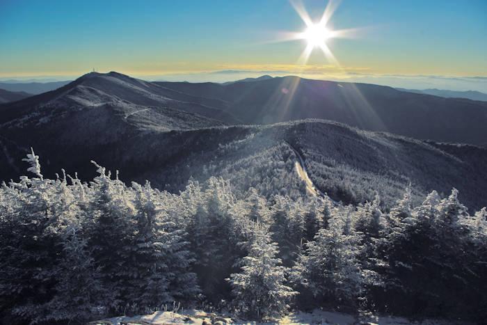 Mt Mitchell Scenic Drive