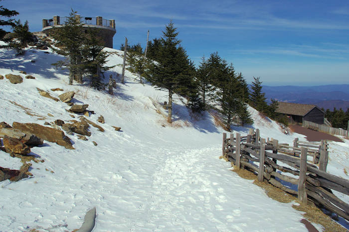 Mt Mitchell Winter Hike