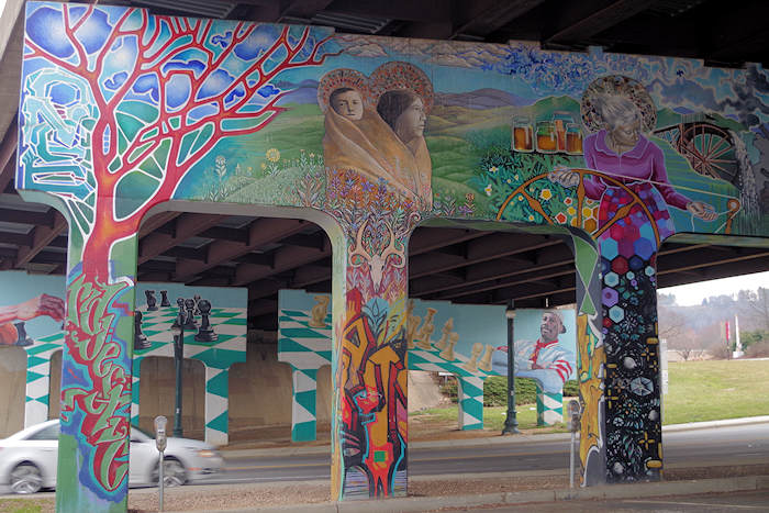 Lexington Gateway Mural Asheville