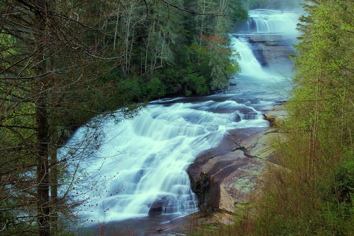 North Carolina Waterfall Drives