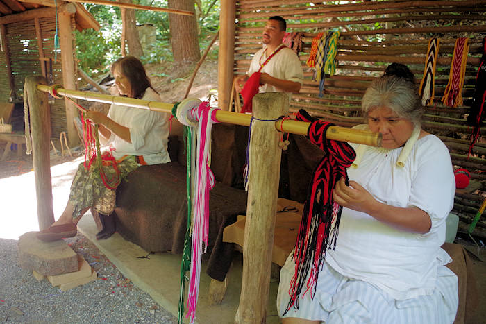 Oconaluftee Indian Village Cherokee