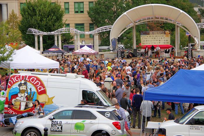 Oktoberfest Beer Festival Asheville
