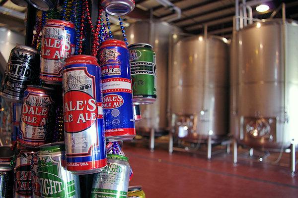 Oskar Blues Brewery in Brevard