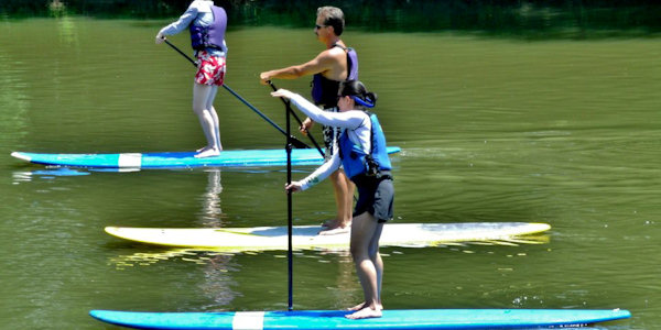 Paddleboard in Asheville
