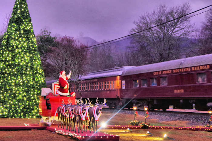 Tweetsie Christmas.Polar Express Train Nc Smoky Mountains