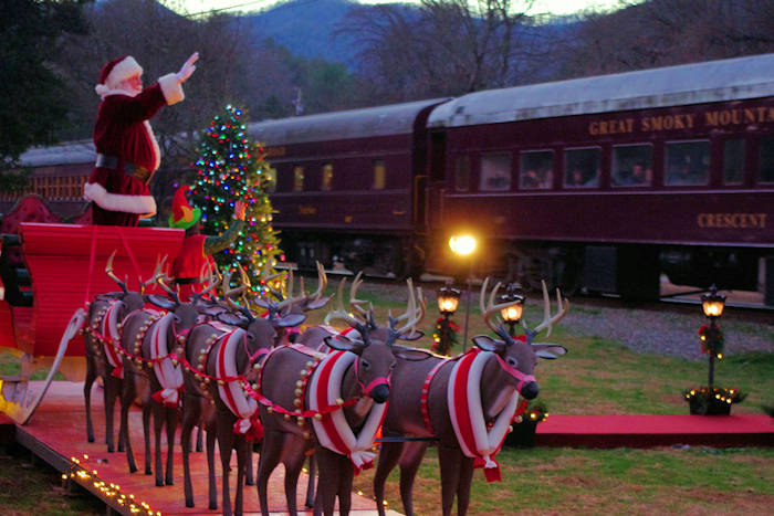 Polar Express Christmas Train Set