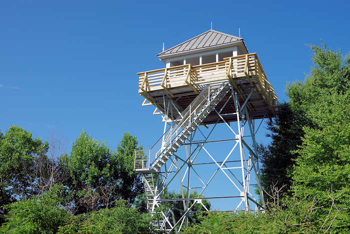 Rich Mountain Lookout Tower, NC