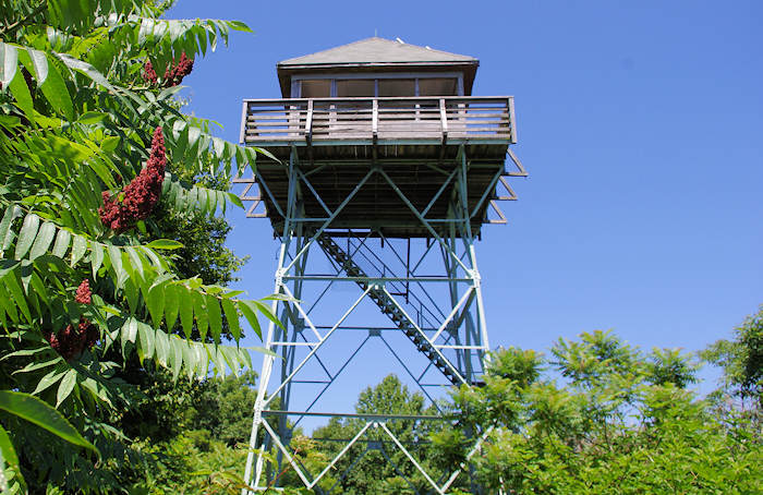 Rich Mountain Lookout Tower NC