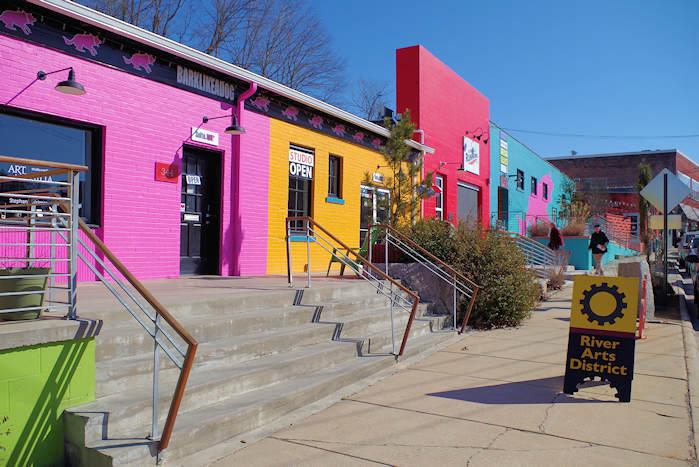 River Arts District, Asheville