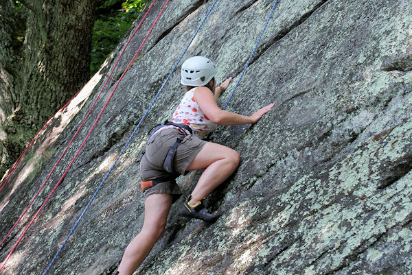 Rock Climbing near Asheville & Chimney Rock Park