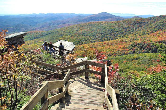 Blue Ridge Parkway Hikes Asheville