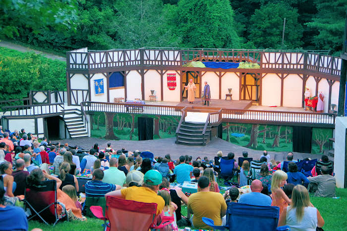 Shakespeare in the Park, Asheville
