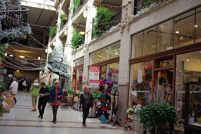 Grove Arcade Downtown Asheville