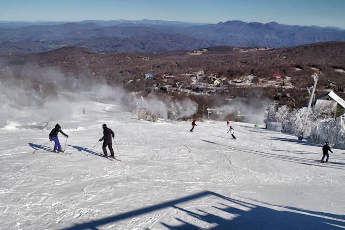 NC Ski Slopes near Asheville