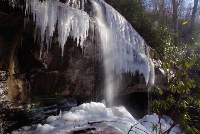 Slick Rock Falls NC