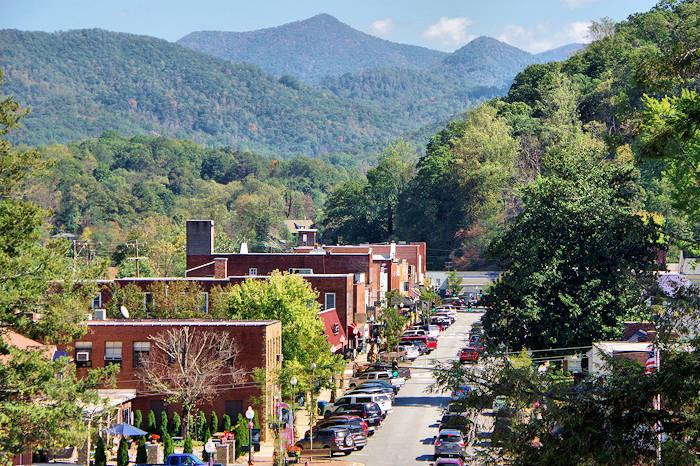 Smoky Mountains Small Towns North Carolina