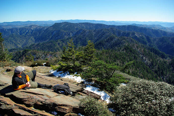 Hiking in Great Smoky Mountains