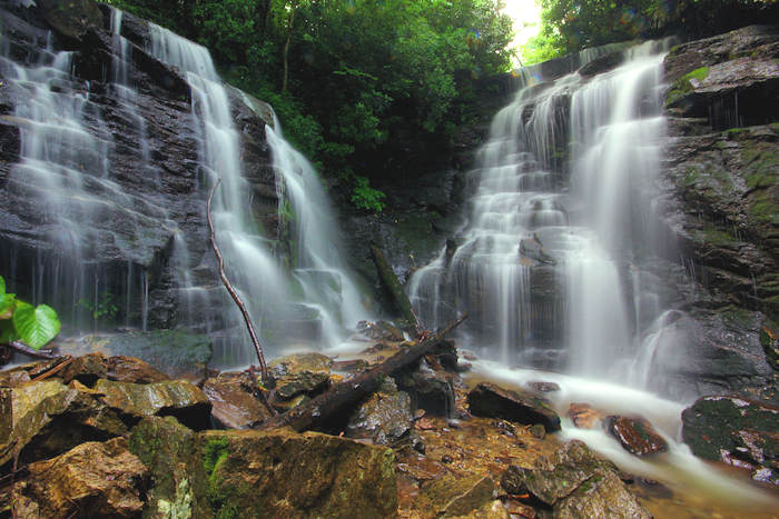 Soco Waterfall near Asheville