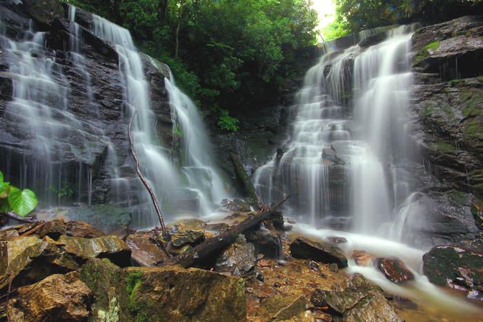Soco Waterfall near Asheville
