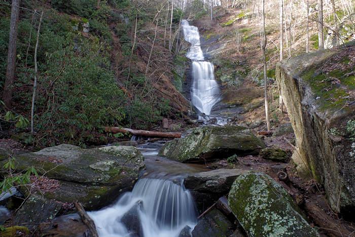 Crabtree Falls North Carolina Waterfall On Blue Ridge Parkway