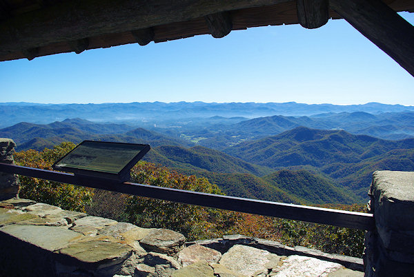 Wayah Bald Lookout Tower