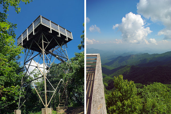 Wesser Bald Lookout Tower