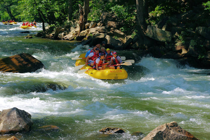 Whitewater Rafting North Carolina
