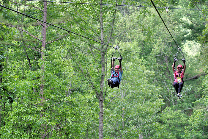 Ziplines Asheville & Best Zip Line Canopy Tours Asheville NC Mountains