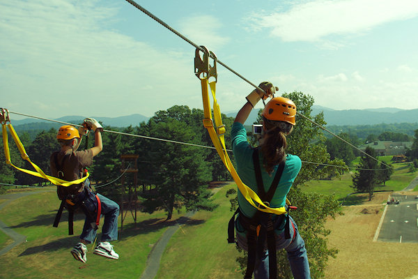 Zipline Canopy Tours near Downtown Asheville & Zip Line Tours Downtown Asheville