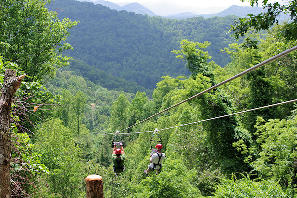 Zip Lines near Asheville