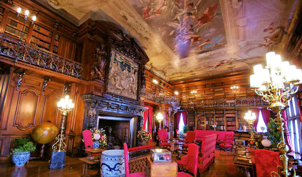 Biltmore House Library