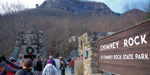 Chimney Rock State Park First Day Hike