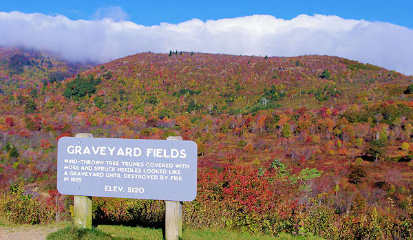 Graveyard Fields, Fall Color