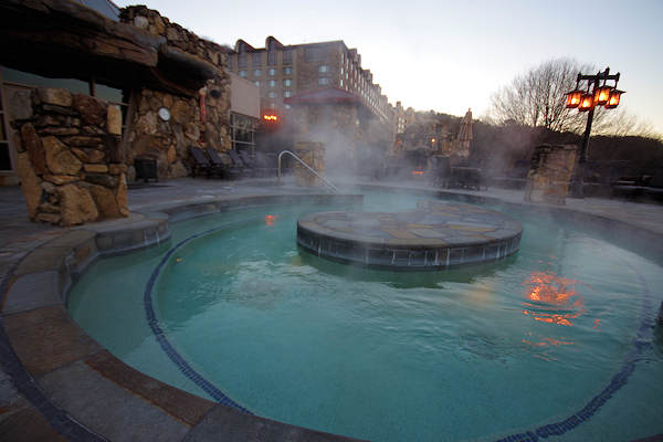 Whirlpool at Grove Park Inn