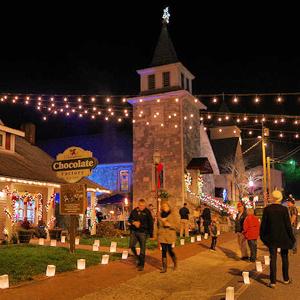 Dillsboro Festival of Lights and Luminaries