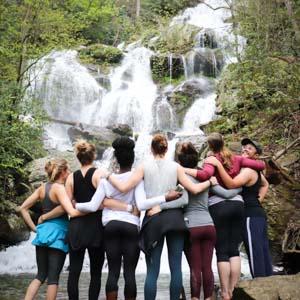 Namaste in Nature Yoga Hikes Asheville