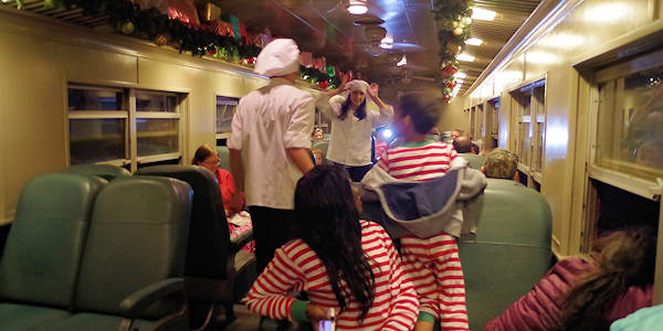 Polar Express Train, North Carolina