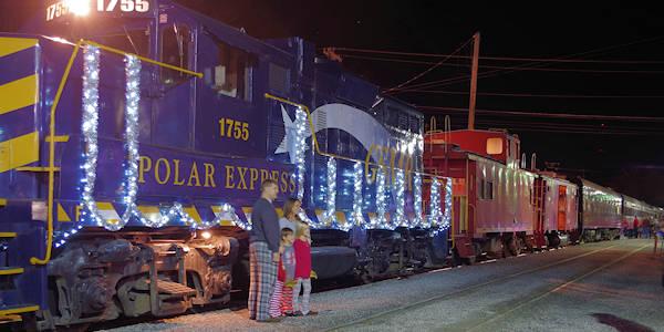 Polar Express Train Nc Smoky Mountains
