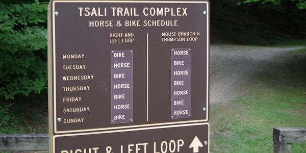 Tsali Mountain Biking Nc