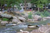 Camping near Lake Lure