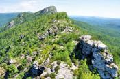 Chimneys Hike Linville Gorge