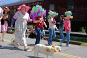 Easter Hat Parade in Dillsboro