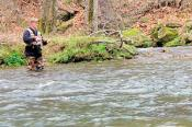 Fishing in Great Smoky Mountains Park, North Carolina