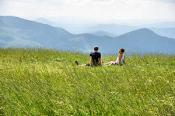 Picnic at Max Patch
