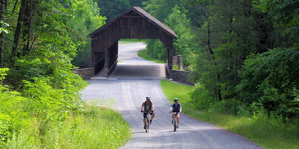 DuPont State Forest Covered Bridge