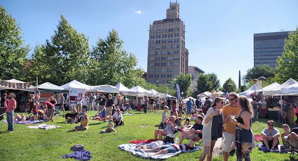Leaf Festival Downtown Asheville